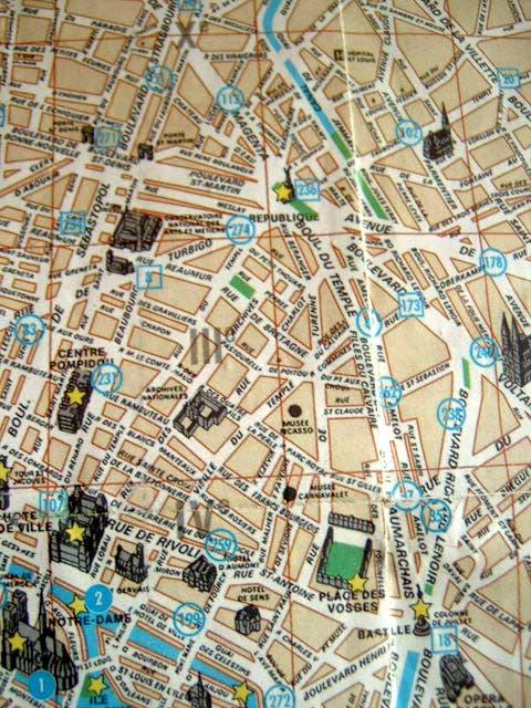 Cartina Parigi Con Quartieri.Il Quartiere Del Tempio A Parigi Oggi