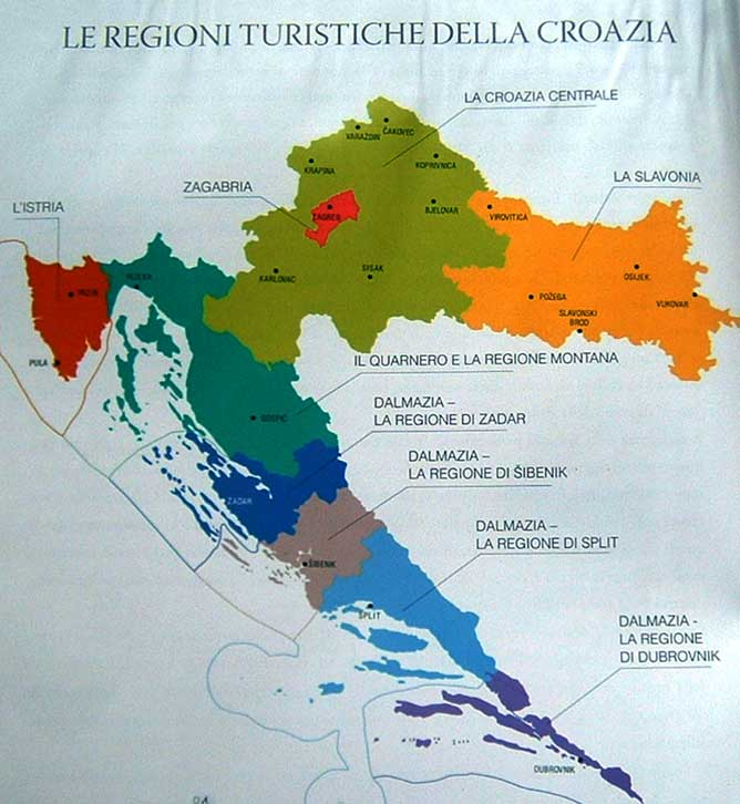 Dalmazia Italiana Cartina.Manifesto Costoso Vasta Gamma Zara Cartina Speciale Teseo Lao
